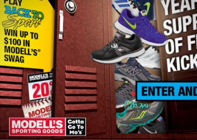 Online Promotion: Modells Back to Sport – Instant Win