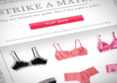 Online Promotion: Ruelala Strike-A-Match – Instant Win