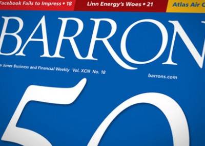 Email Design: Barrons Magazine