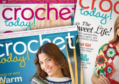 Email Design and Microsite: Crochet Today