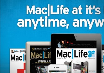 Webpage: Maclife – Magazine Subscription