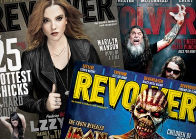 Email Design: Revolver Magazine