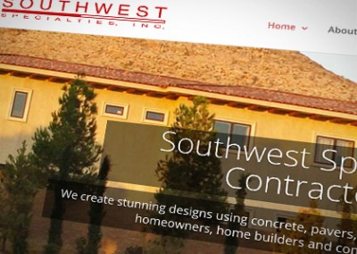 WordPress Website: Southwest Specialties