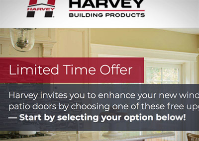 Online Sweepstake: Harvey Building Products