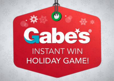 Online Promotion: Gabes – Intant Win